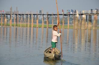 Myanmar-U-Bein Bridge