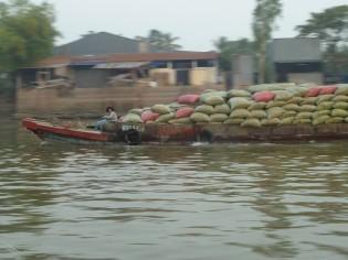 Vietnam-Mekong river