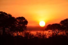 Tramonto Sudafricano al Kruger Park